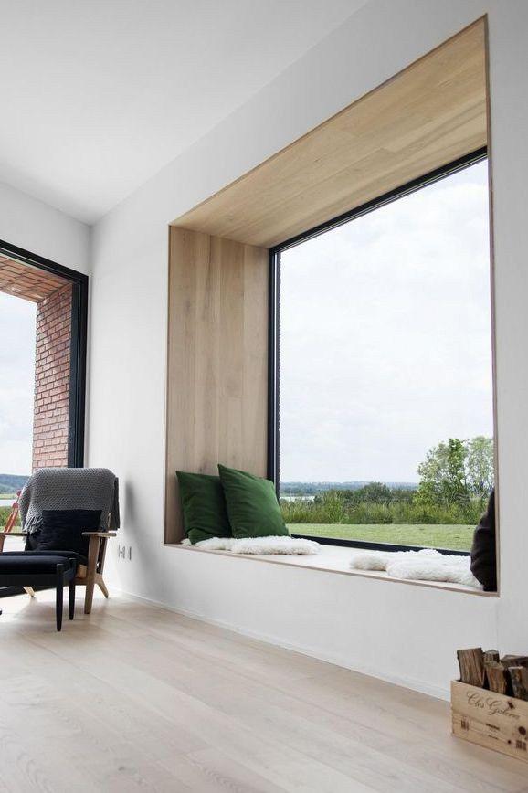 5 Simple Modern [Interior] Window Trim Details - Thin Trim | Small ...