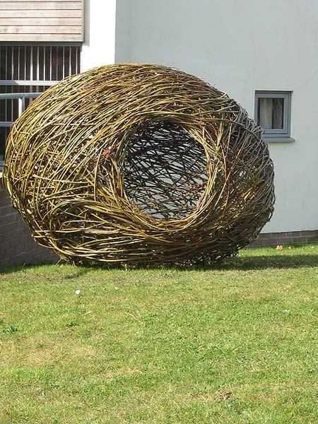 Willow Garden Structures Courses Commissions Hexham Northumberland North East England Garden Structures Willow Garden Garden Art