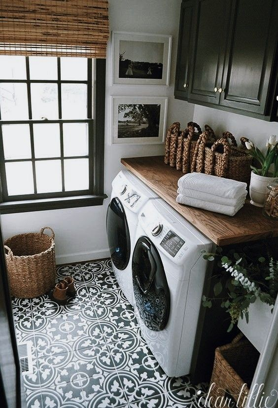 Laundry Room Bench Ideas