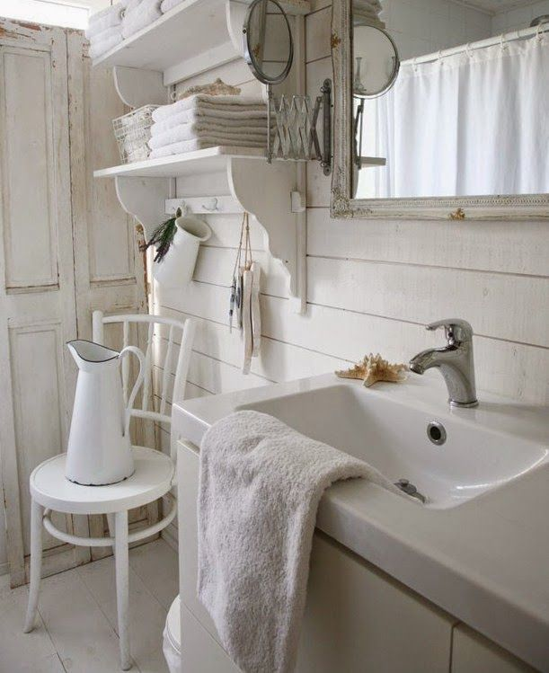 Shabby Chic Con Amore - Casa Shabby Chic.: Come creare un bagno nello stile Shabby Chic ...