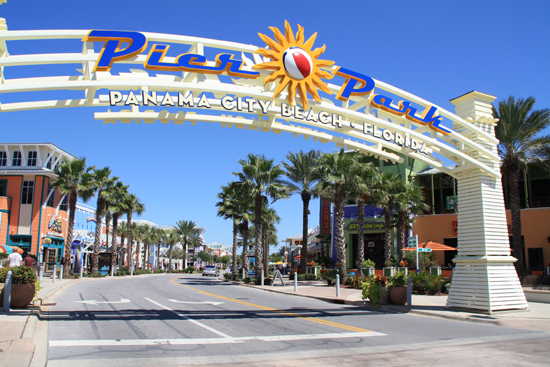 Welcome Pier Park Panama City Beach Florida