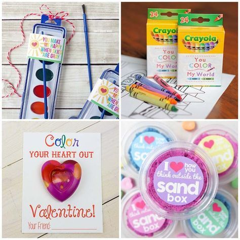 50 Free Printable Non-Candy Valentines #50freeprintables