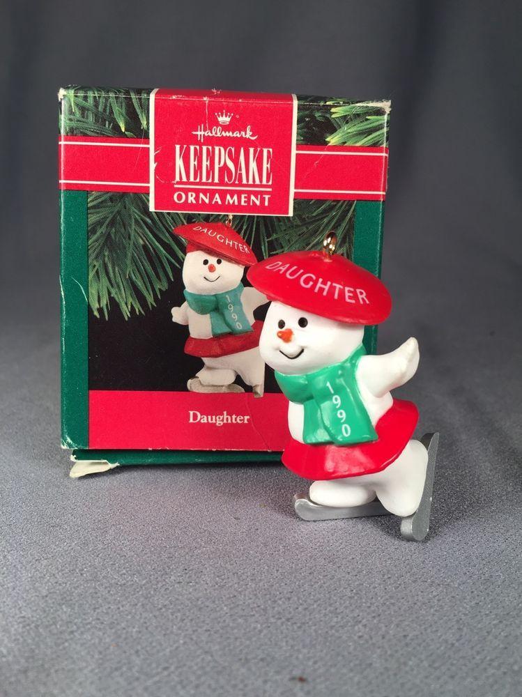 Hallmark Keepsake Ornament- 1990 Daughter | Collectibles, Decorative Collectibles, Decorative Collectible Brands | eBay!
