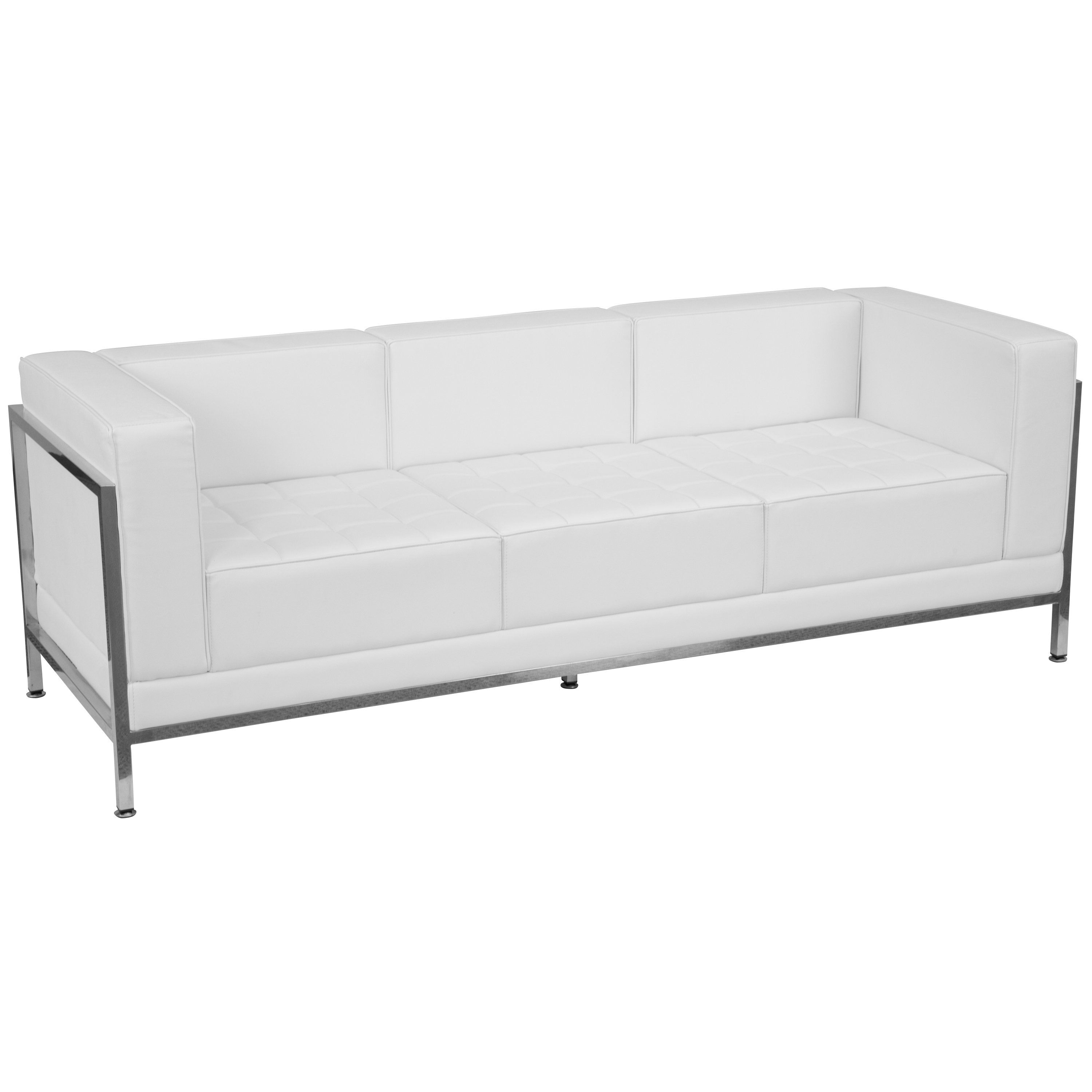 Hercules Imagination Series Contemporary Leather Sofa With