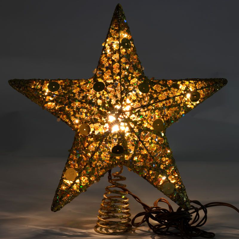 Magical Christmas Tree Topper Star