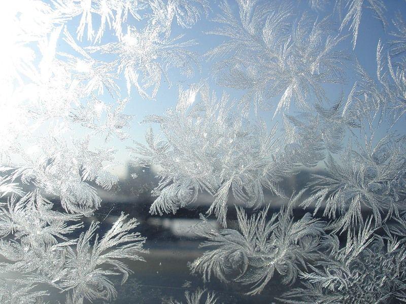 Gazeta 2.0 - Морозные рисунки на окне