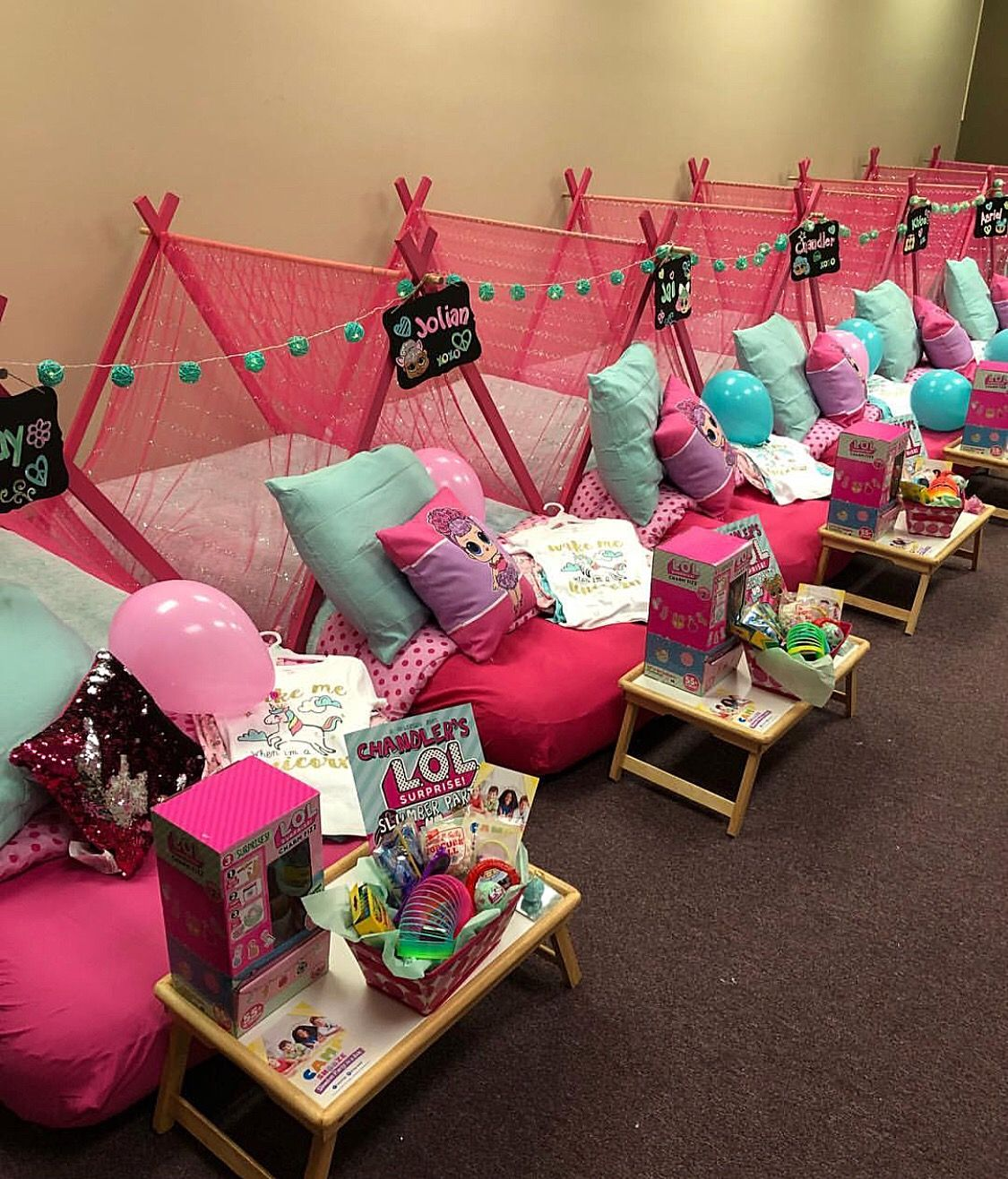 Lol Surprise Dolls Sleepover Birthday Party How Fun Is -4864