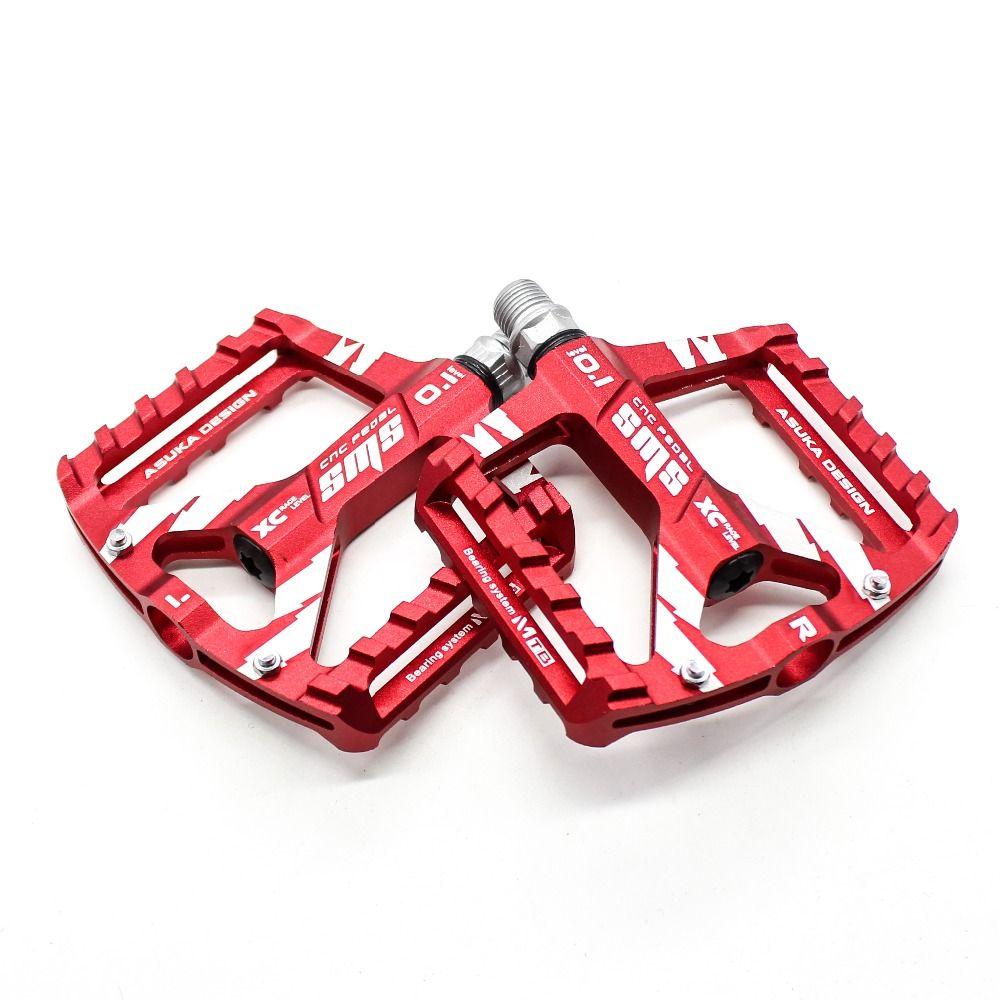 1 Paire MTB Aluminium Alliage Plat Plateforme Vtt Pédales Pédale Vélo