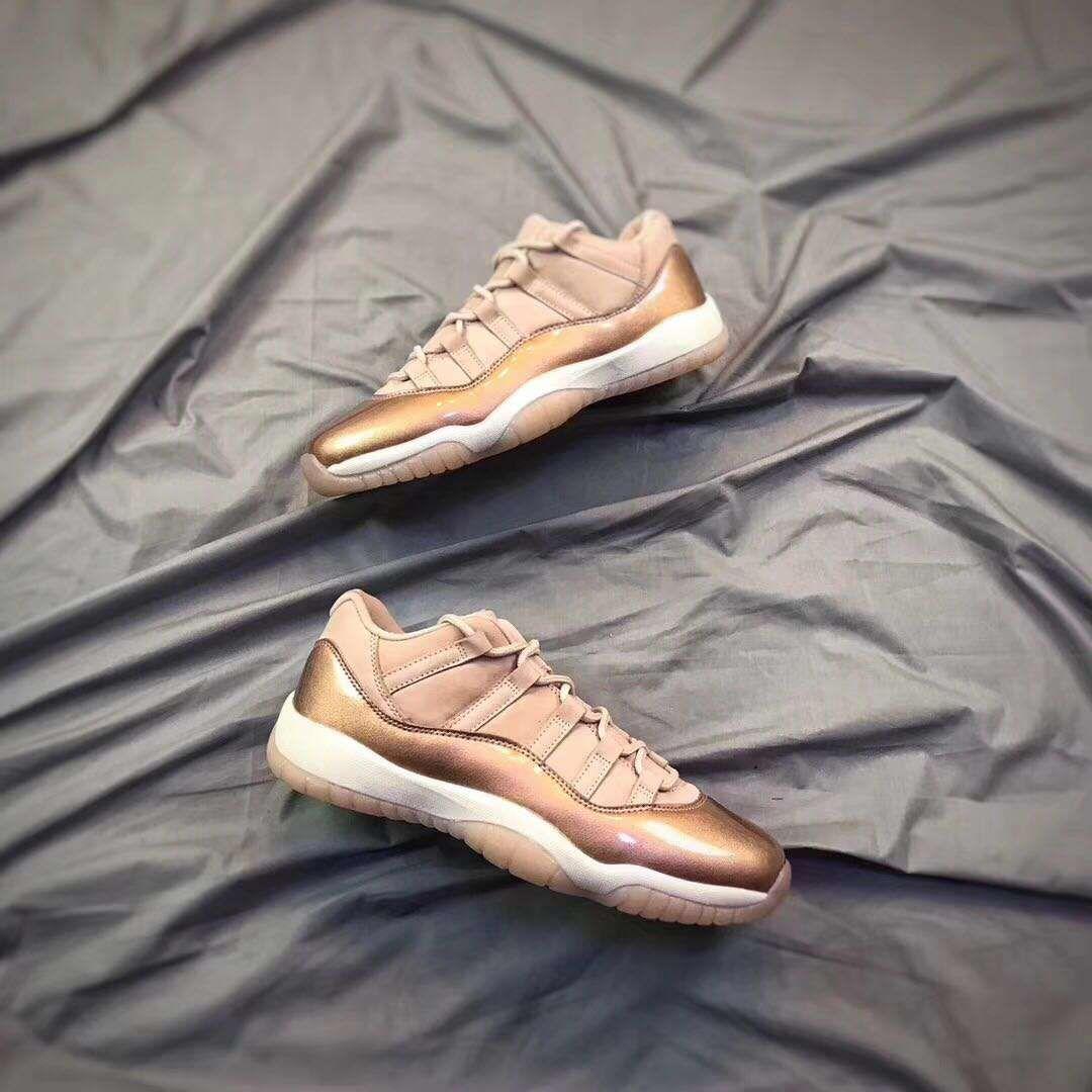 f8c6ff685132 Air Jordan 11 Low GS Rose Gold Discover More  http   www.