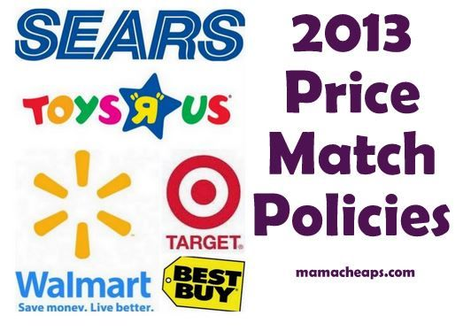 2013 Holiday Price Match Holidays For Best Buy Target Walmart Sears Toys R Us Mama Cheaps Cool Things To Buy Toys R Us Walmart