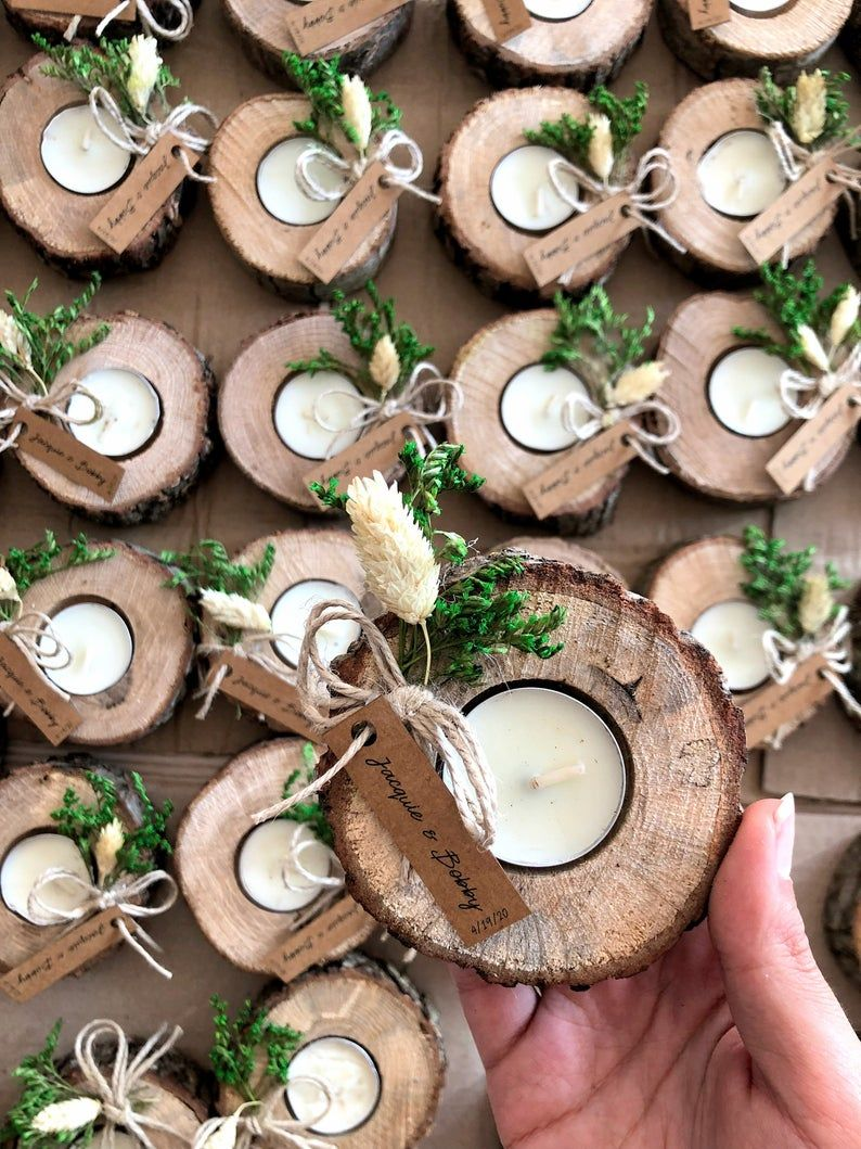 Wedding Favors For Guests Bulk Gifts Rustic Wedding Favor Personalized Favors Wood Favors Tealight Holder Unique Gift Thank You Gifts Wedding Favors For Guests Rustic Wedding Favors Best Wedding Favors