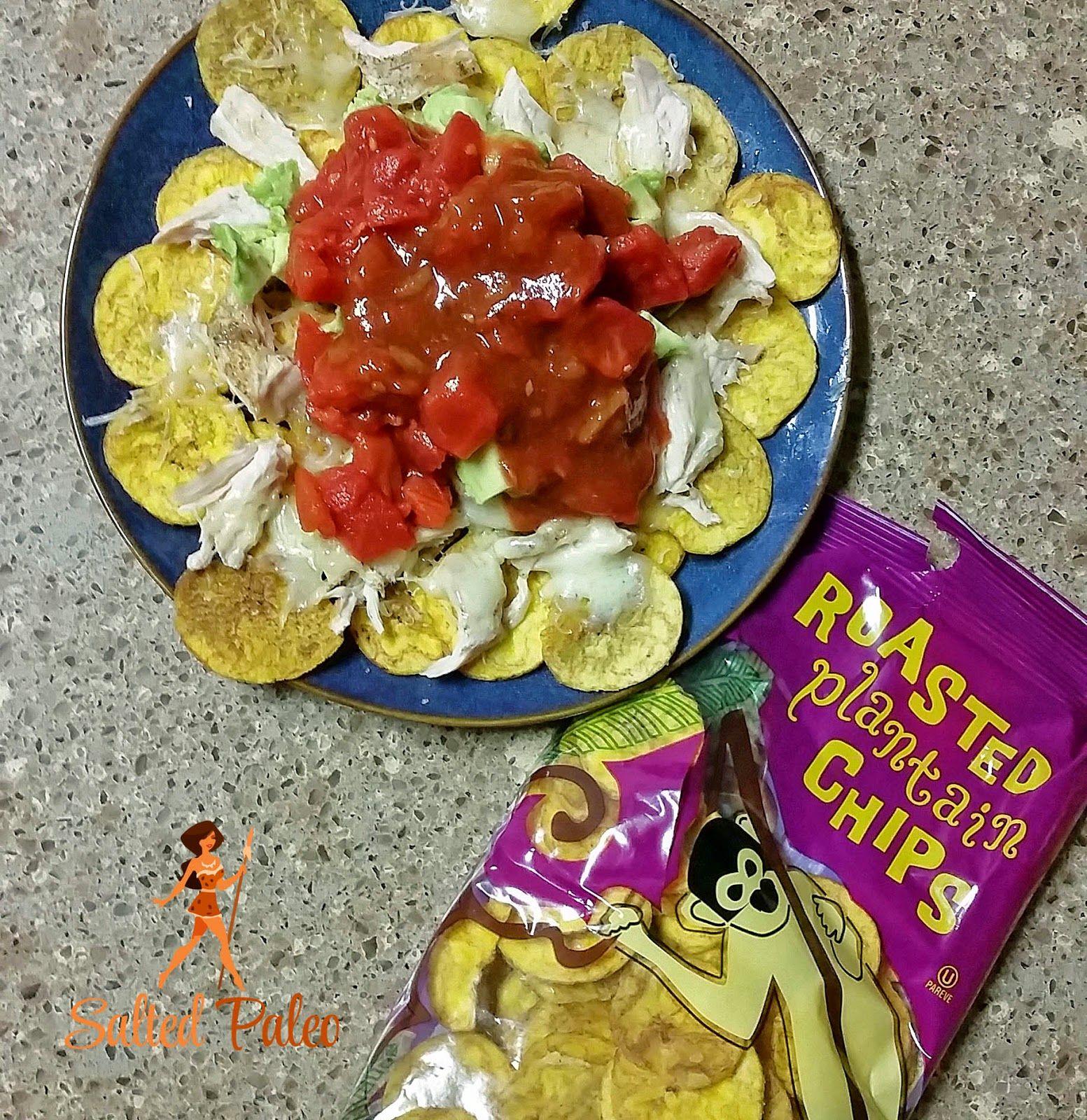 Plantain Chips Nachos