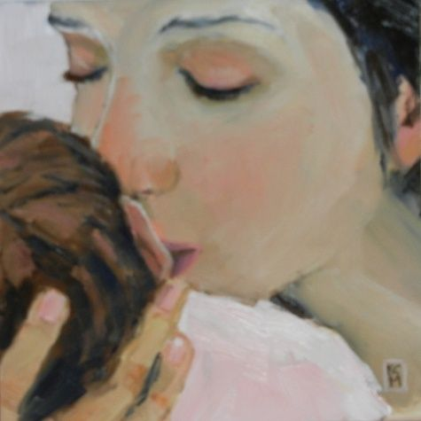 Image result for mother and baby paintings