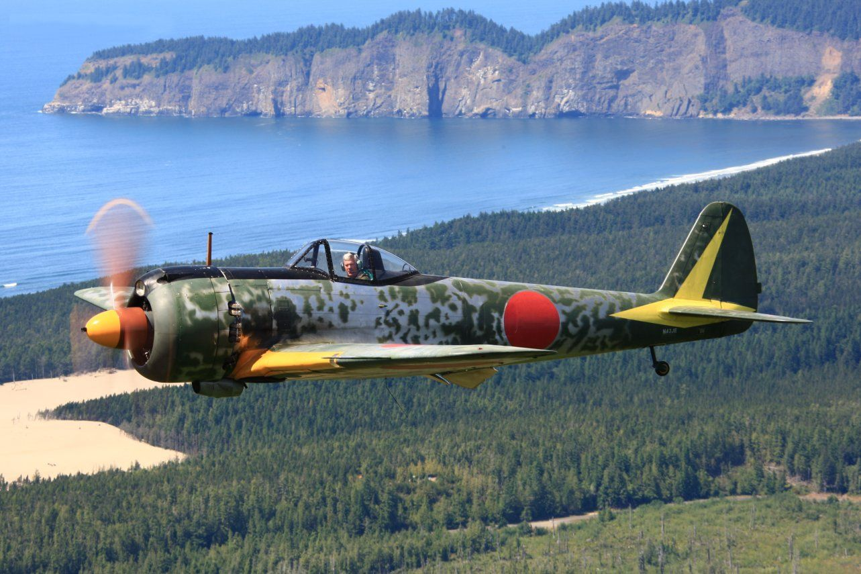 Nakajima Ki 43 Hayabusa 一式戦闘機 Oscar Atsushi Fred Fujimori