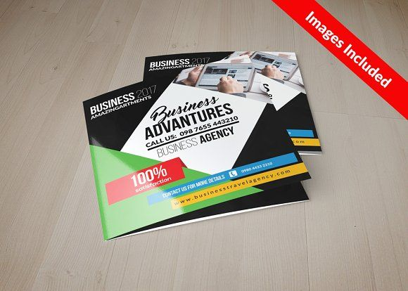 Business Square Trifold Brochure a4 brochure templates psd a4 size - business pamphlet templates free