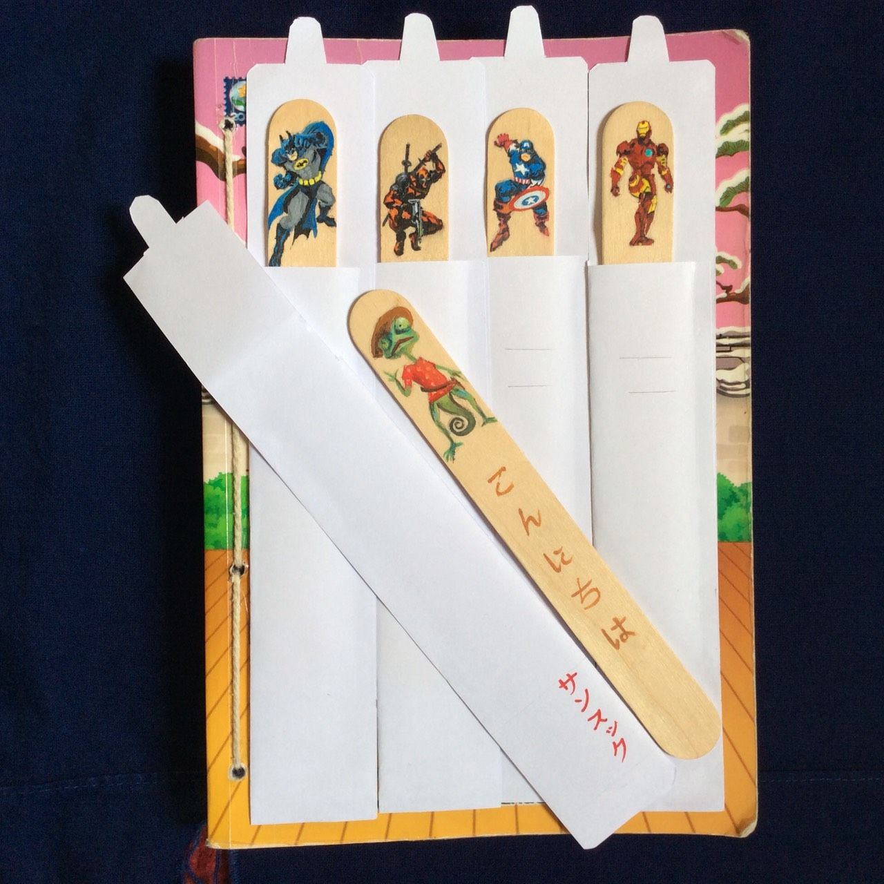 Bookmark painting special and unique gift for your special one