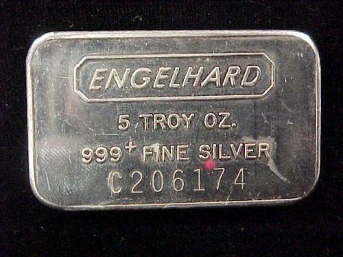 1 5 Troy Oz 999 Fine Silver Engelhard Bar C206174 Priced To Sell Lqqk Ebay Silver Silver Bars Ebay