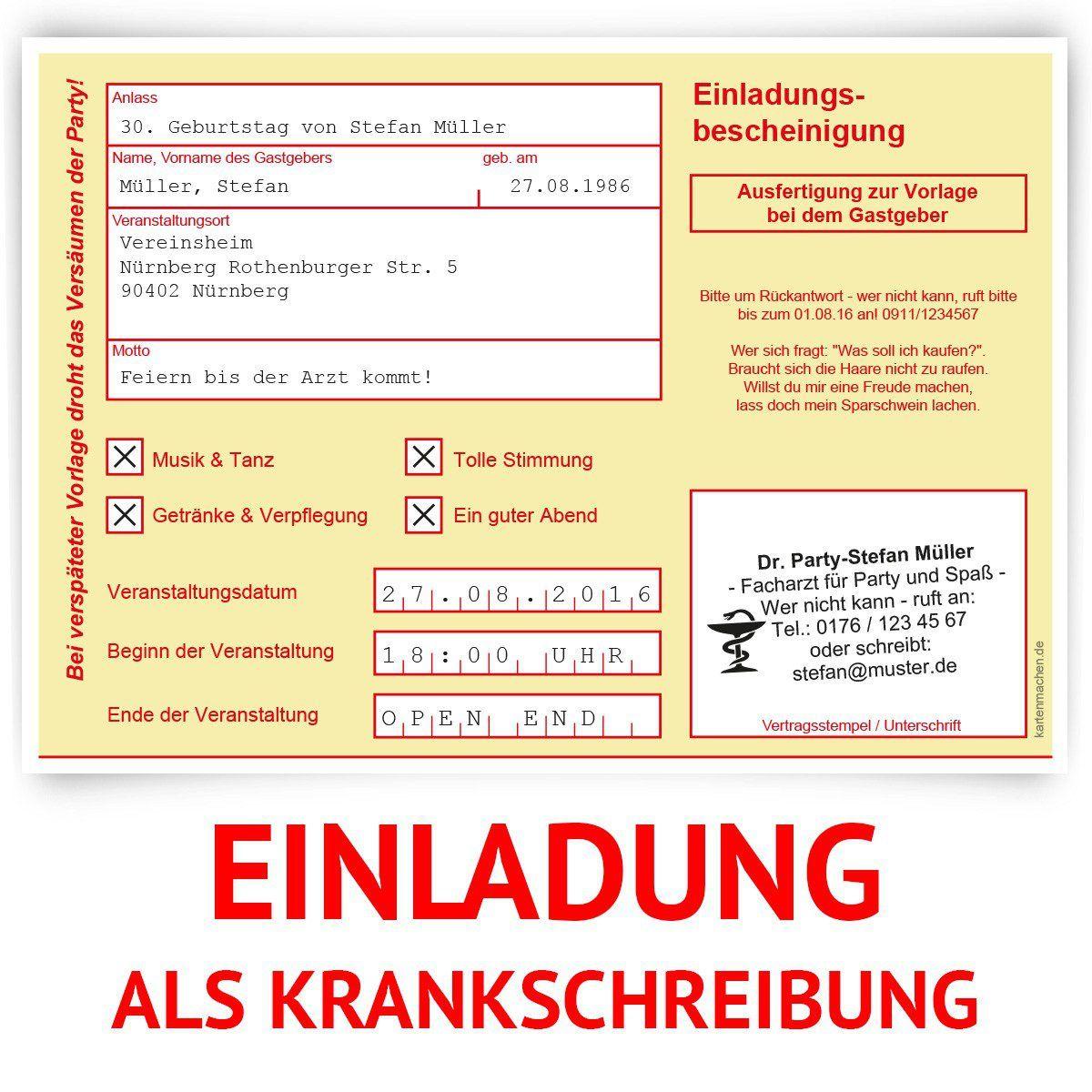 Einladungskarten kostenlos online erstellen und drucken