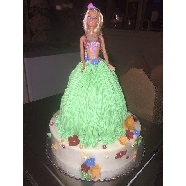 Malibu Barbie Cake By A Bakeshop Birthday Cakes By A Bakeshop