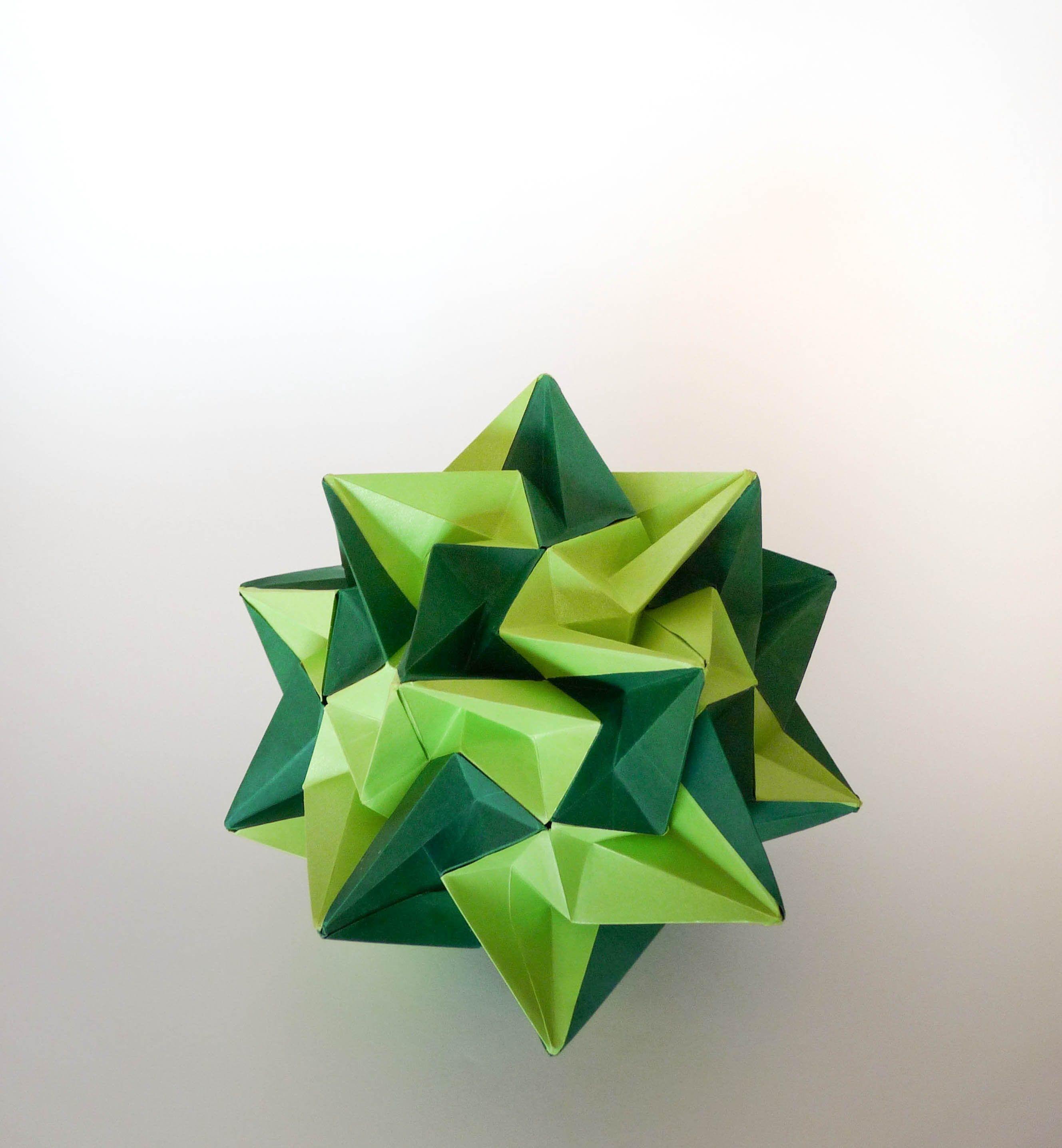 kusudama paradigma (Ekaterina Lukasheva) | Origami ... - photo#49