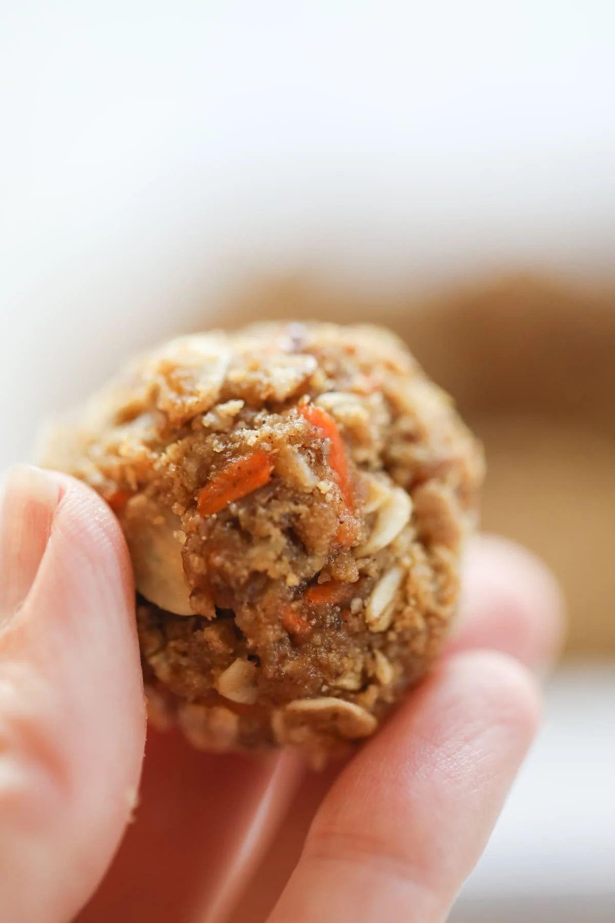 Carrot cake protein bites easy laurens latest in