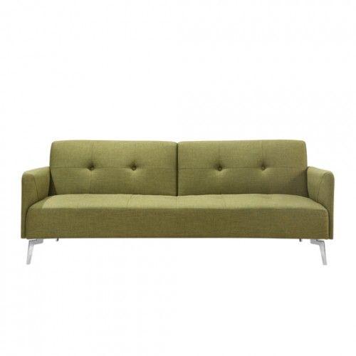 ספה מעוצבת נפתחת למיטה MAXO - ירוק