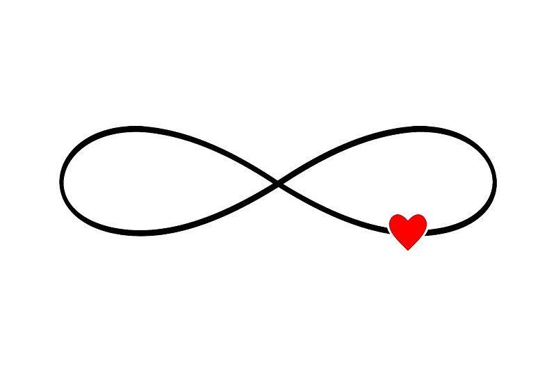 Liebe zeichen tattoo unendliche 125 unendlich