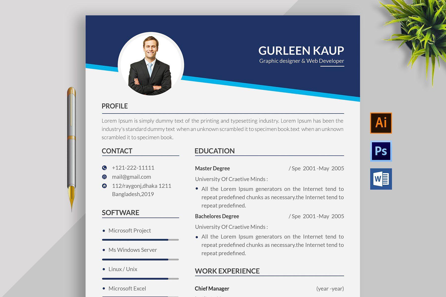 Clean Resume/CV , Affiliate, emailsendFeaturesMain