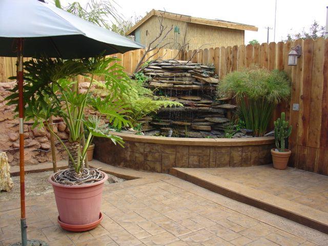 Jardin decocasa estanques jardineria pinterest for Estanques pequenos