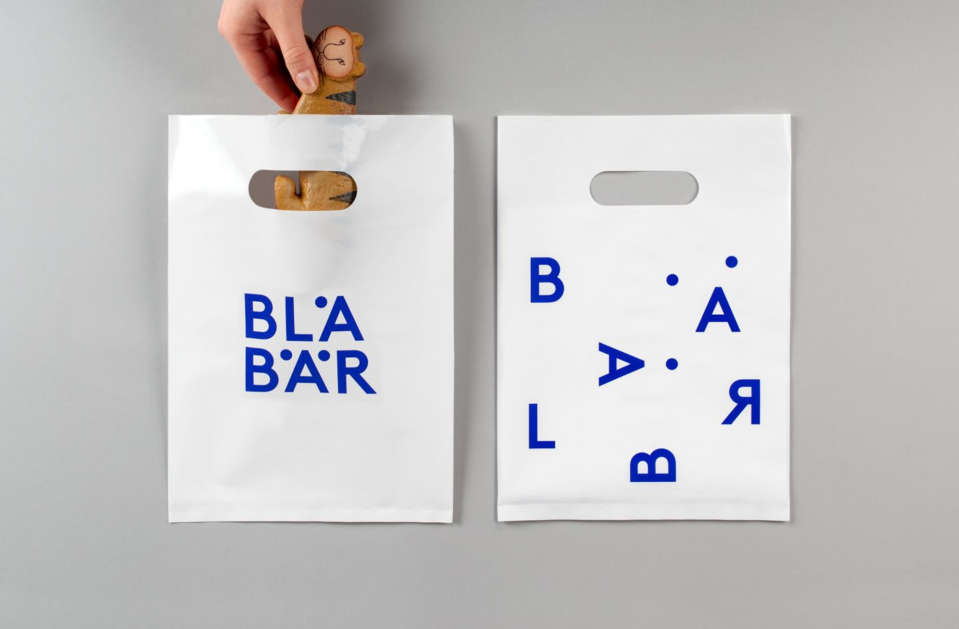 BVD – Dynamic identity for Blå Bär, a concept store in Osaka selling Scandinavian goods