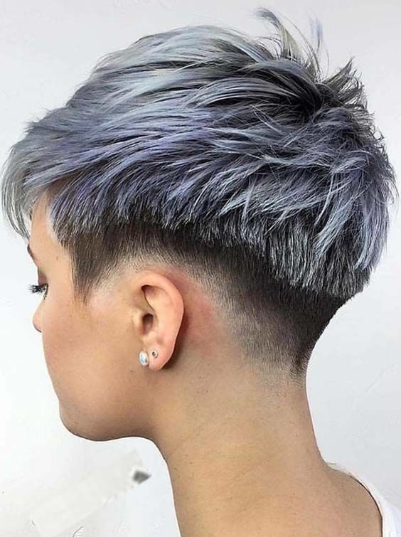 Top 30 Undercut Short Pixie Haircuts for 2018