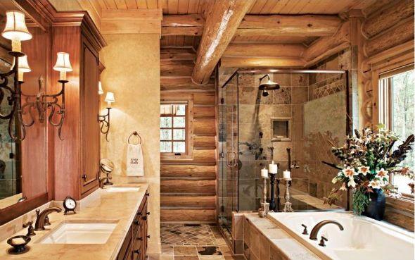 Love The Log Cabin Look Western