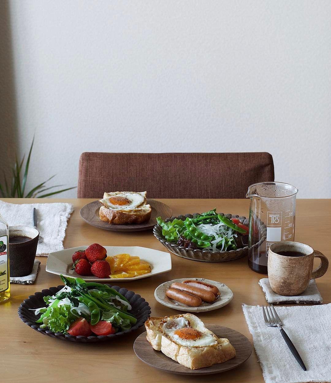 779 個讚,20 則留言 - Instagram 上的 @me_____ct:「 . GWも後半。 いつもと代わり映えしない朝食☕️ 」