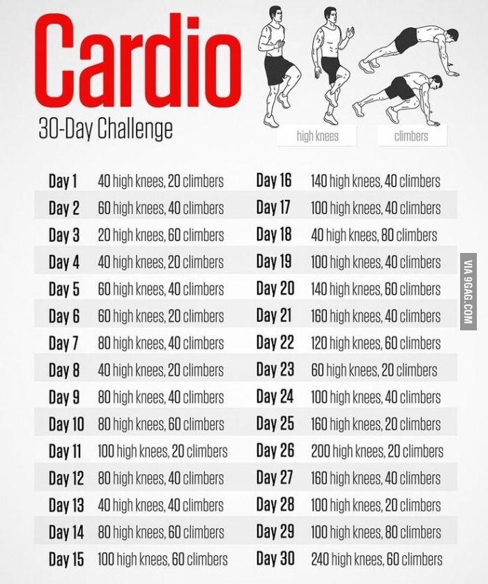 Cardio 30 Day Challenge 9gag