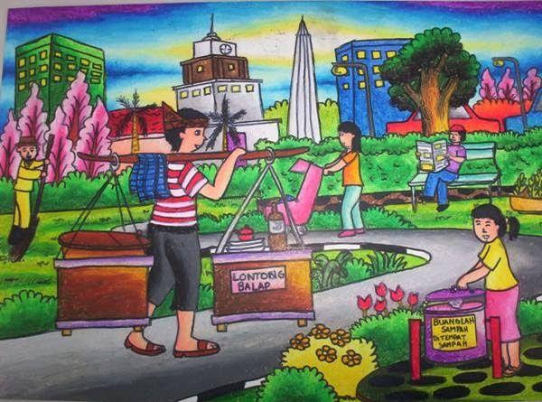 Gambar Pedesaan Menggunakan Crayon Gambar Pedesaan Gambar Pedesaan Menggunakan Crayonhttp Pemandanganoce Blog Gambar Pedesaan Gambar Lukisan Pemandangan Kota