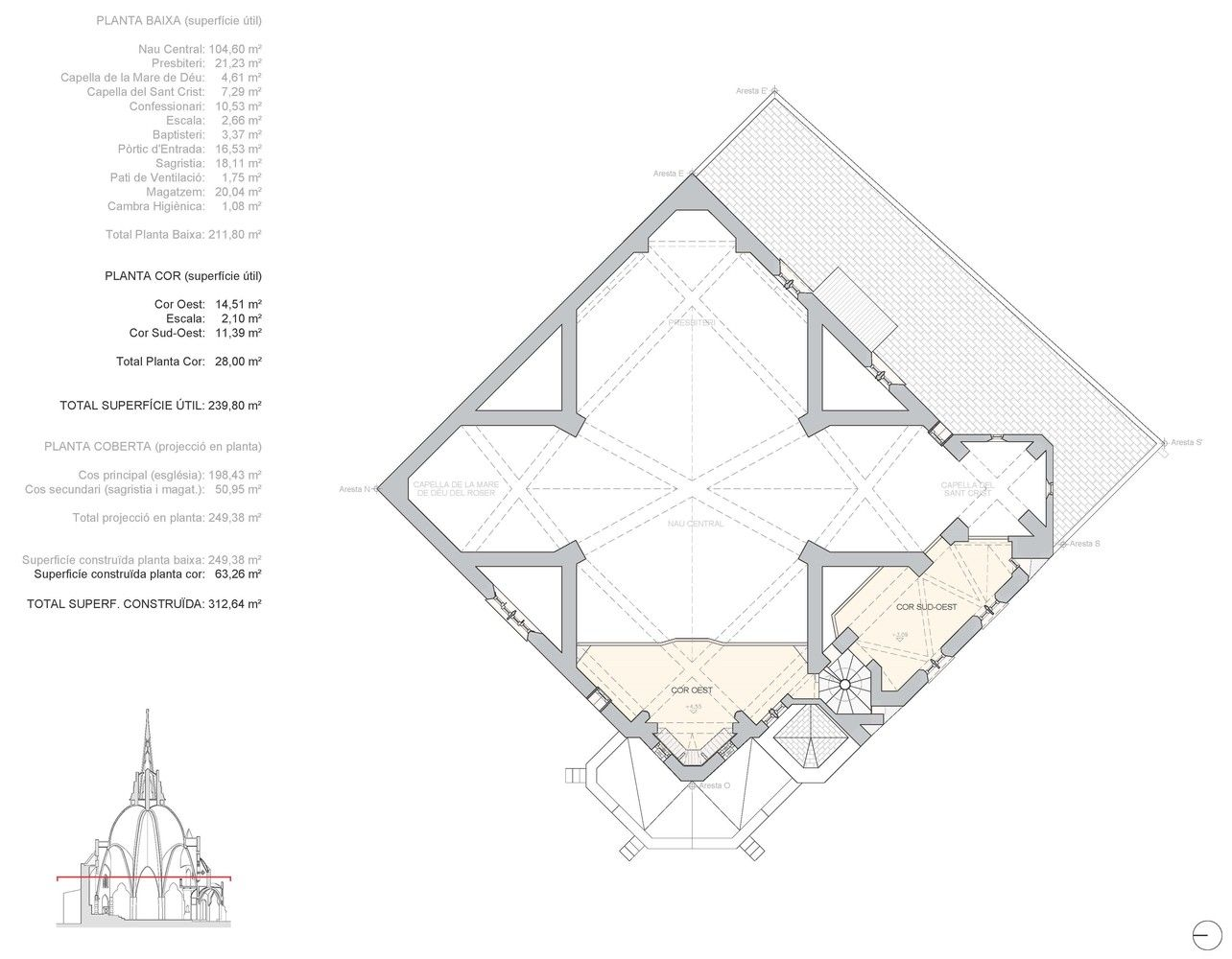 Gallery of Catalan Church Restored Using Ingenious Tensioning System - 16