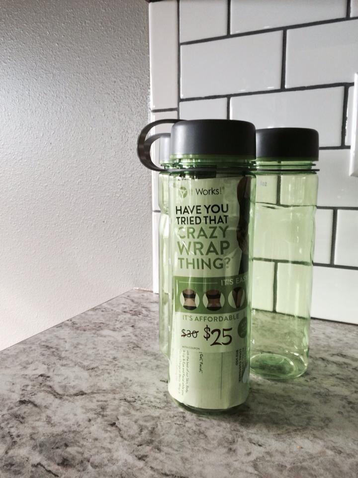 Individual body wraps + sample of Greens + BPA free water bottle ...