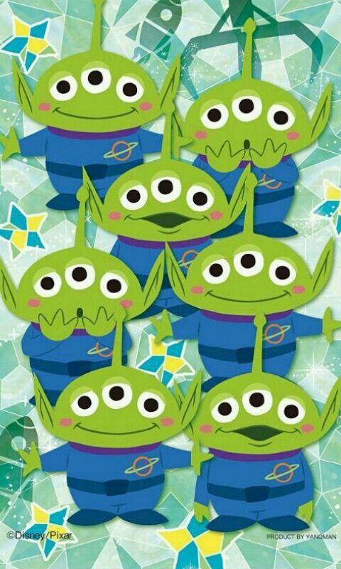 Disney Films Art Pixar Stuff Phone Wallpaper Toy Story Party Movie Alien Cartoon Characters