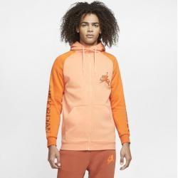 Photo of Jordan Jumpman Classics Full Zip Men's Hoodie – Orange Nike