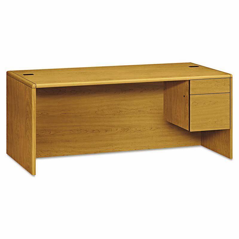 Hon 10700 Series 2 Drawer Right Pedestal Desk Pedestal Desk Home Office Furniture Desk Craftsman Desks