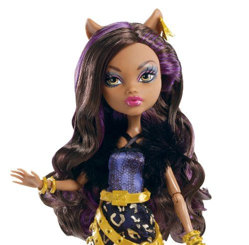 Toys: Monster High Travel Scaris Clawdeen Wolf Doll