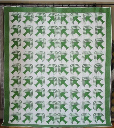 Large Vintage American Pine Tree Quilt Tree of Life in Beautiful ... : pine tree quilts - Adamdwight.com