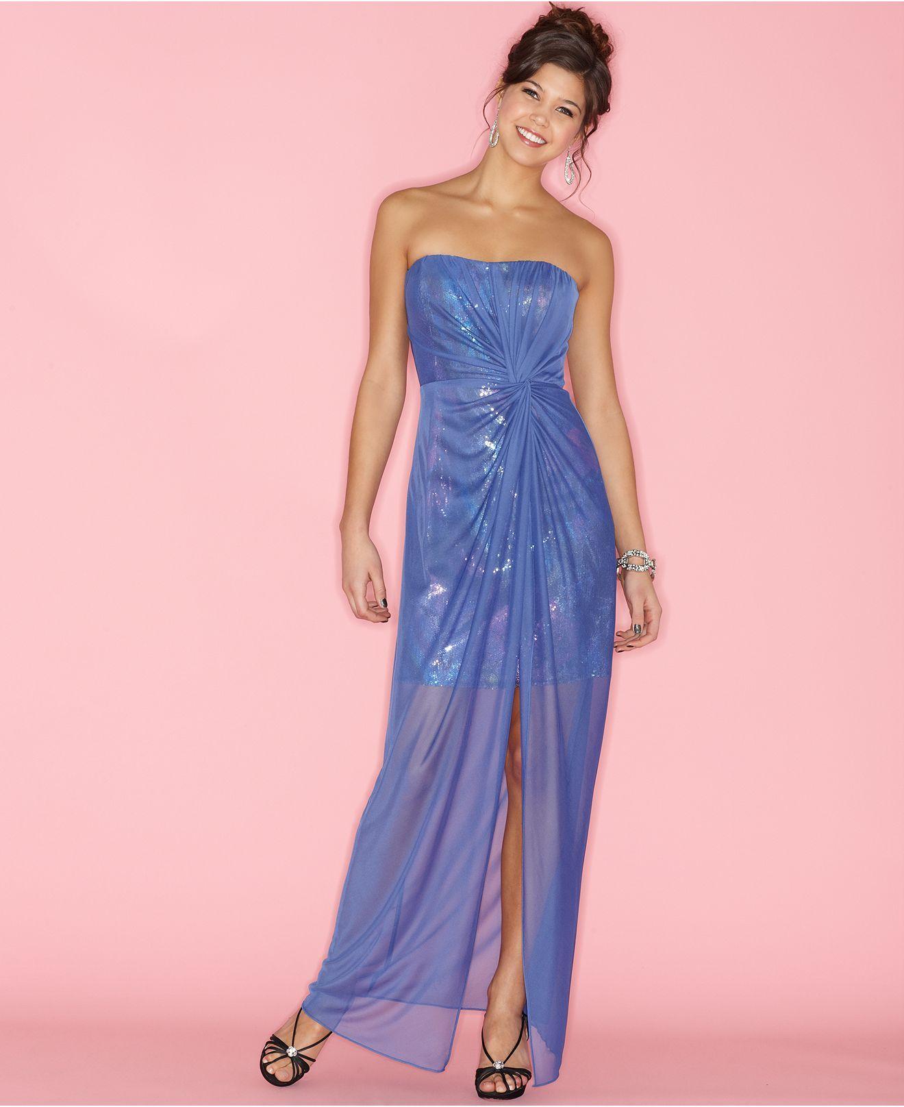 Contemporáneo Vestidos De Fiesta Hailey Logan Ideas Ornamento ...