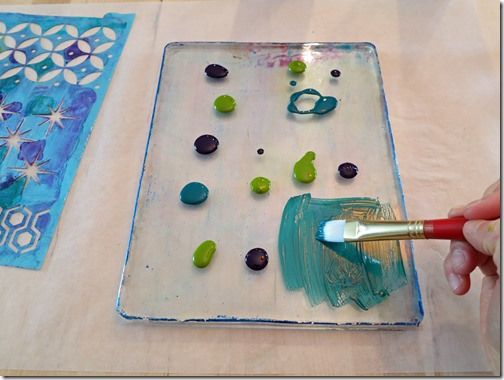 A Gelli Plate Print Tutorial | True Color - art journal, mixed media inspiration.
