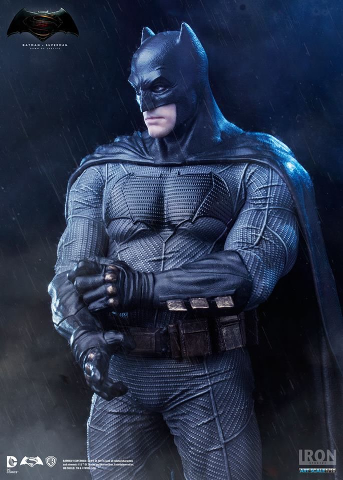 Estátua Batman - Batman Vs Superman Dawn Of Justice - Art Scale 1 10 - 20  cm - Iron Studios  d0ef77a4c2c