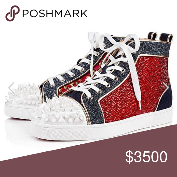 f332f01bf01d Loubs size 13 Brand new Christian Louboutin Shoes Sneakers
