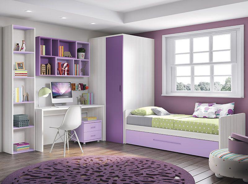 Catálogo de Dormitorios juveniles | Ideas para dormitorios ...