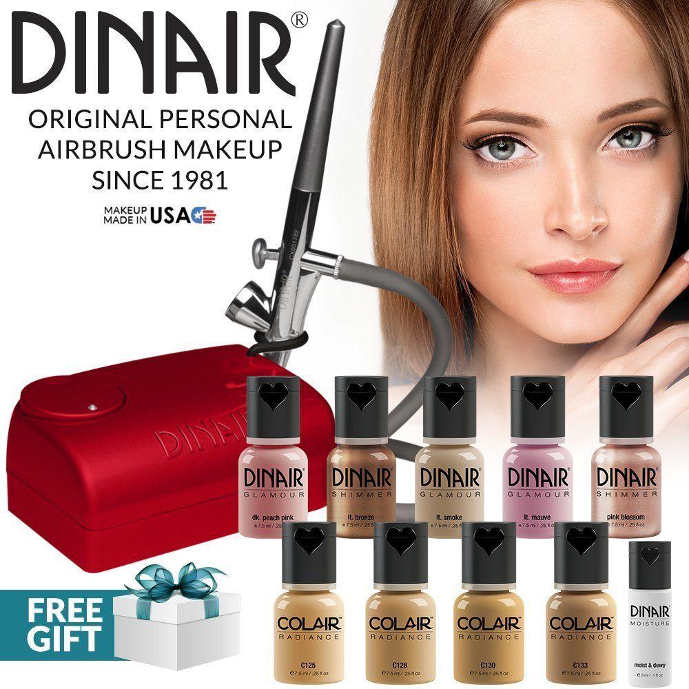 Dinair Airbrush Personal Pro Makeup Kit Eyeliner