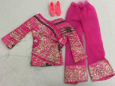 Vintage Barbie Bright 'N Brocade Outfit Complete 1786 Lot 127