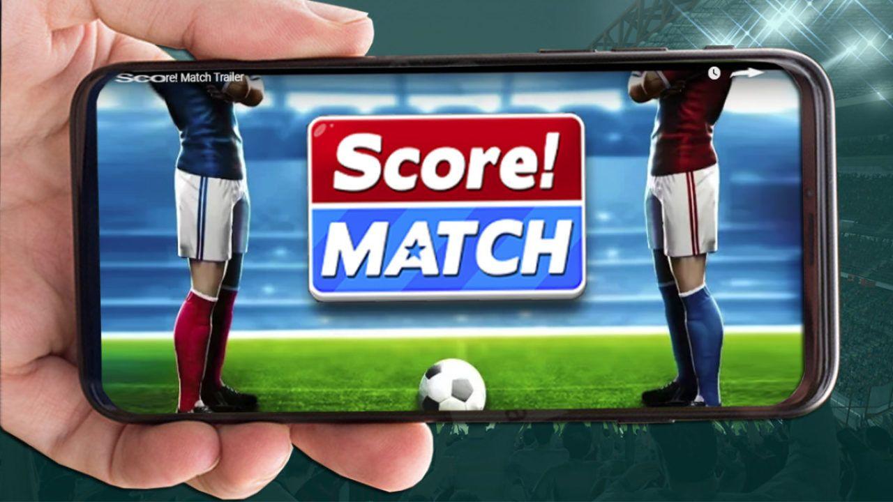اسرار لعبة Score Match شرح تحميل لعبة سكور ماتش للايفون والاندرويد Football Tournament Score Hero Playing Football